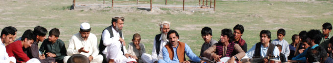 Community interaction in Nangarhar